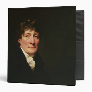Portrait of Henry Mackenzie 3 Ring Binders