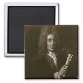 Portrait of Henry Purcell (1659-95) engraved by Ge Magnet