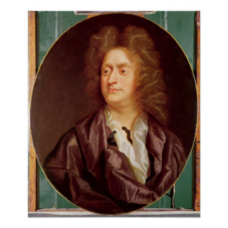 Portrait of Henry Purcell, 1695 Poster