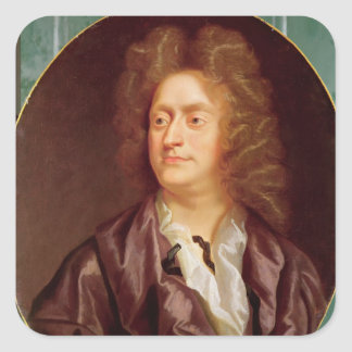 Portrait of Henry Purcell 1695 Square Sticker