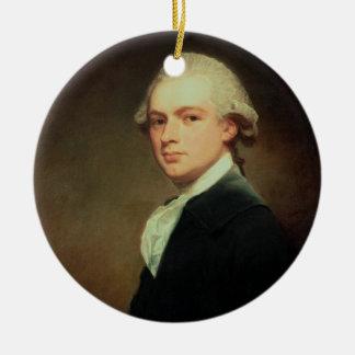 Portrait of Henry Russell (1751-1836) c.1783 (oil Ceramic Ornament
