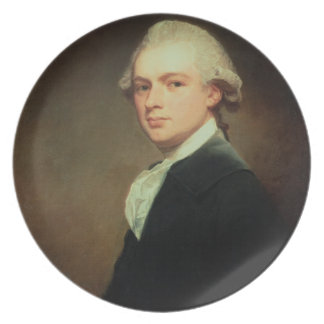 Portrait of Henry Russell (1751-1836) c.1783 (oil Plate
