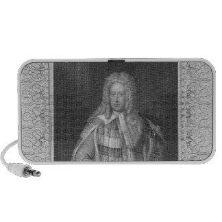 Portrait of Henry St. John Viscount Bolingbroke iPod Speaker