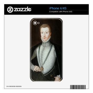 Portrait of Henry Stewart, Earl of Darnley (1545-6 Skins For The iPhone 4