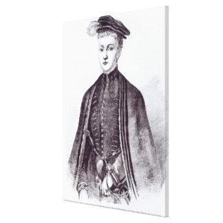 Portrait of Henry Stewart, Lord Darnley Canvas Print
