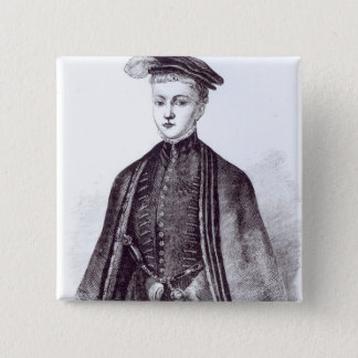 Portrait of Henry Stewart, Lord Darnley Pinback Button