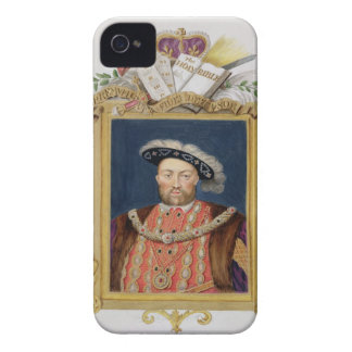 Portrait of Henry VIII (1491-1547) as Defender of iPhone 4 Case