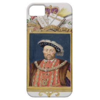 Portrait of Henry VIII (1491-1547) as Defender of iPhone SE/5/5s Case