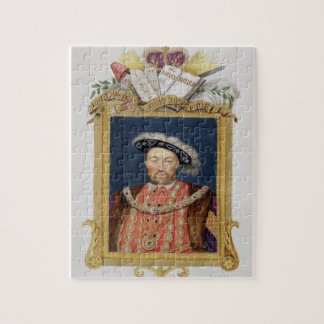 Portrait of Henry VIII (1491-1547) as Defender of Jigsaw Puzzle