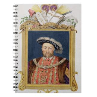 Portrait of Henry VIII (1491-1547) as Defender of Notebook