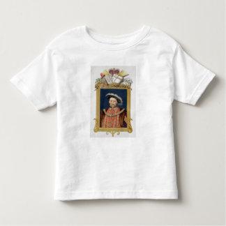 Portrait of Henry VIII (1491-1547) as Defender of T Shirt