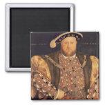 Portrait of Henry VIII  aged 49, 1540 Fridge Magnets