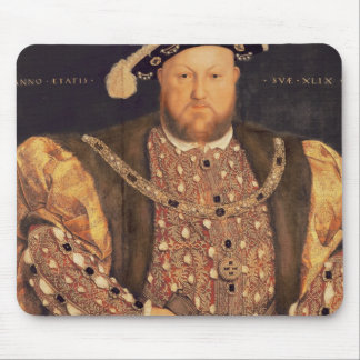 Portrait of Henry VIII  aged 49, 1540 Mouse Pad