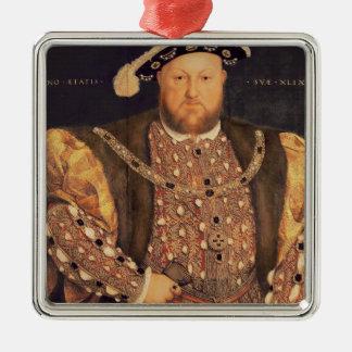 Portrait of Henry VIII  aged 49, 1540 Christmas Tree Ornaments