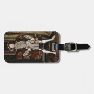 Portrait of Henry VIII Bag Tag