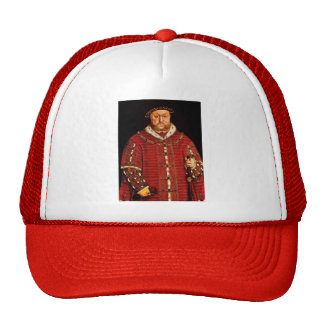 Portrait of Henry VIII by Hans Holbein Mesh Hat