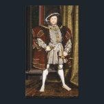 """Portrait of Henry VIII by Hans Holbein the Younger Canvas Print<br><div class=""""desc"""">Portrait of Henry VIII by Hans Holbein the Younger. Henry VIII (28 June 1491 – 28 January 1547) was king of England from 21 April 1509 until his death. He was lord, and later king, of Ireland, as well as continuing the nominal claim by the English monarchs to the Kingdom...</div>"""