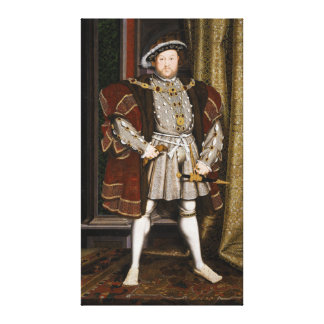 Portrait of Henry VIII by Hans Holbein the Younger Canvas Print