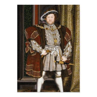 Portrait of Henry VIII by Hans Holbein the Younger Card