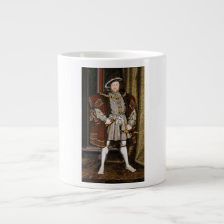 Portrait of Henry VIII by Hans Holbein the Younger Giant Coffee Mug