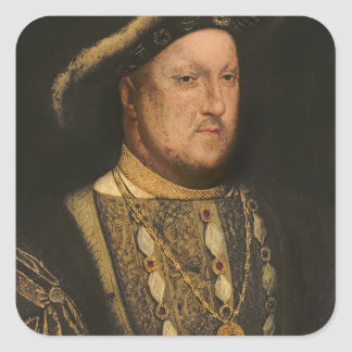 Portrait of Henry VIII  c.1536 Stickers