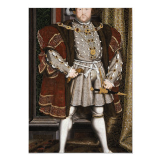 Portrait of Henry VIII Card