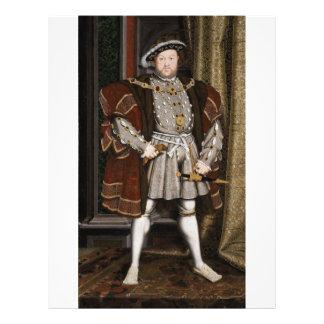 Portrait of Henry VIII Flyers