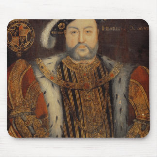 Portrait of Henry VIII Mouse Pad