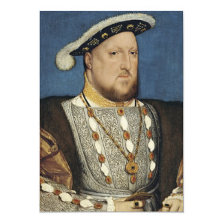 Portrait of Henry VIII of England by Hans Holbein Card