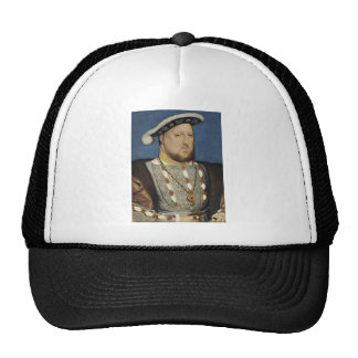 Portrait of Henry VIII of England by Hans Holbein Hats