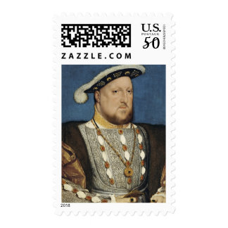 Portrait of Henry VIII of England by Hans Holbein Postage