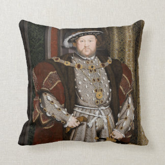 Portrait of Henry VIII Pillow