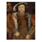 Portrait of Henry VIII Postcard