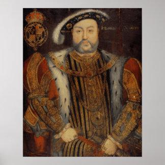 Portrait of Henry VIII Poster