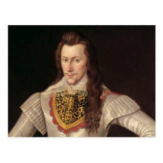 Portrait of Henry Wriothesley  3rd Earl Post Card