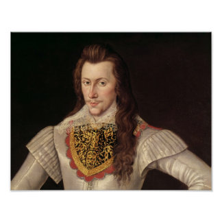 Portrait of Henry Wriothesley  3rd Earl Posters