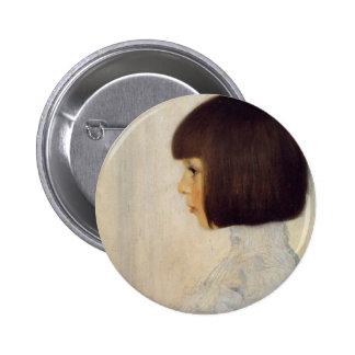 Portrait of herene kurimuto 2 inch round button
