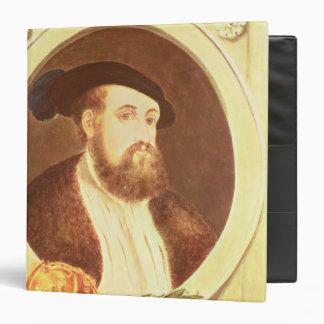 Portrait of Hernan Cortes Vinyl Binders