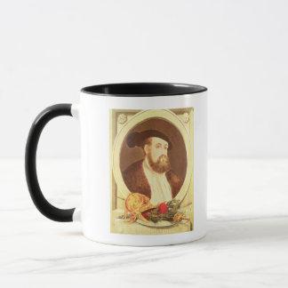 Portrait of Hernan Cortes Mug