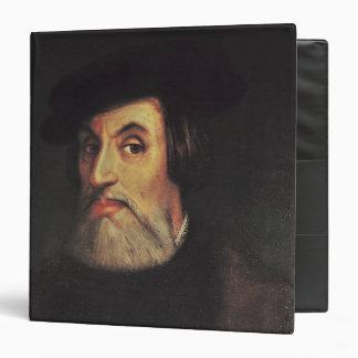Portrait of Hernando Cortes Binders
