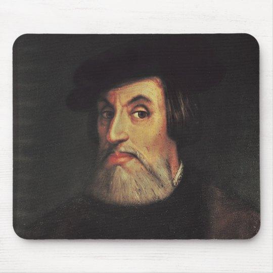 Portrait of Hernando Cortes Mouse Pad