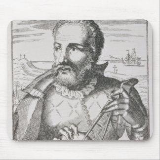 Portrait of Hernando de Magallanes Mouse Pad