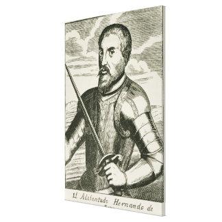 Portrait of Hernando de Soto Gallery Wrap Canvas