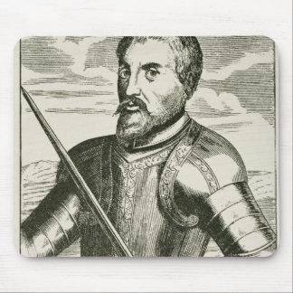 Portrait of Hernando de Soto Mouse Pad