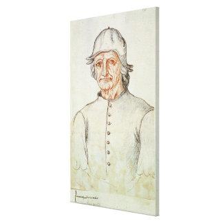 Portrait of Hieronymus Bosch Canvas Print