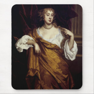 Portrait of Hon. Mary Wharton Mouse Pad