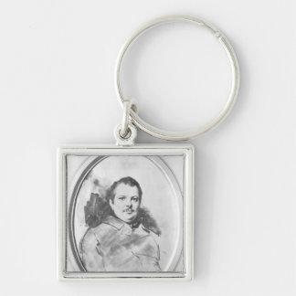 Portrait of Honore de Balzac  c.1820 Key Chains
