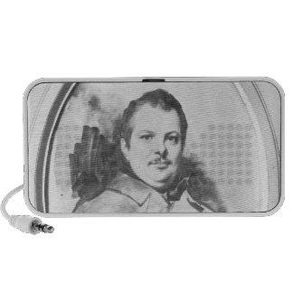 Portrait of Honore de Balzac  c.1820 Mini Speaker