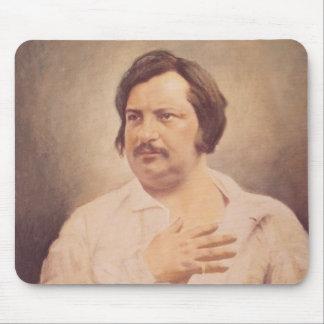Portrait of Honore de Balzac Mouse Pad