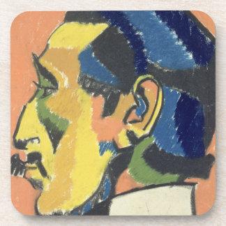 Portrait of Horace Brodsky (1885-1969) (pastel on Coaster